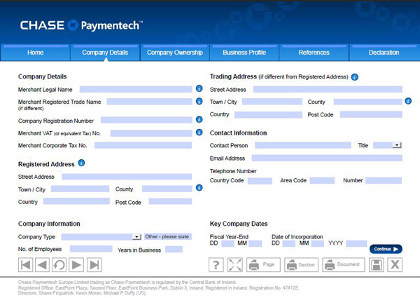 chase paymentech europe li mited